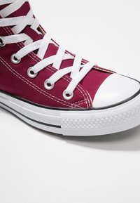 Converse - CHUCK TAYLOR ALL STAR HI - Korkeavartiset tennarit - maroon - 5