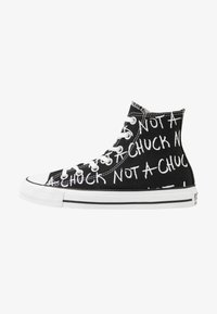 Converse - CHUCK TAYLOR ALL STAR NOT A CHUCK - High-top trainers - black - 0