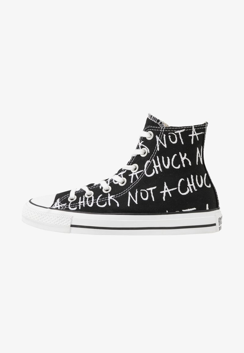 Converse - CHUCK TAYLOR ALL STAR NOT A CHUCK - High-top trainers - black