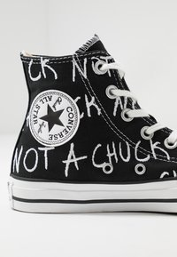 Converse - CHUCK TAYLOR ALL STAR NOT A CHUCK - High-top trainers - black - 5