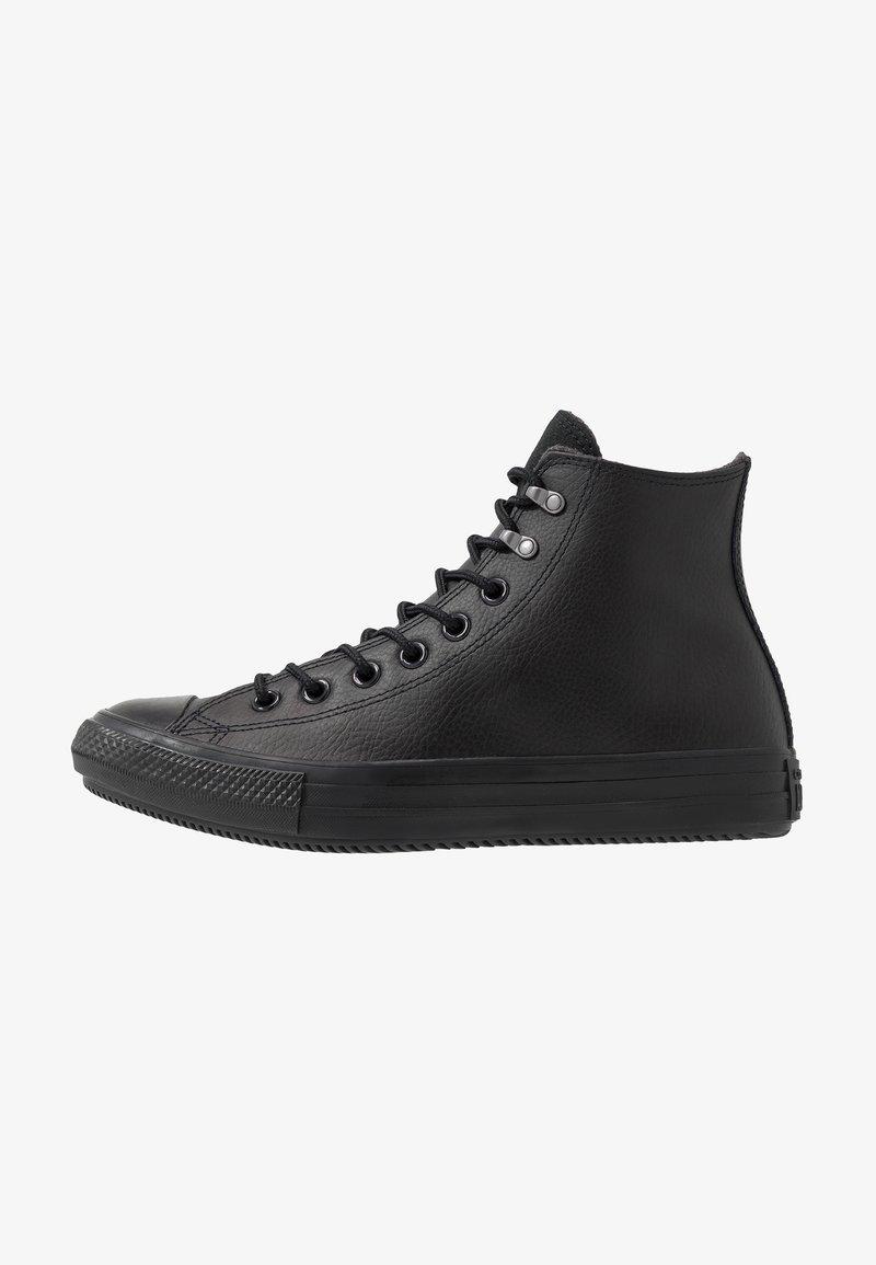 Converse - CHUCK TAYLOR ALL STAR WINTER FIRST STEPS - Höga sneakers - black