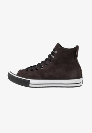 CHUCK TAYLOR ALL STAR WINTER WATERPROOF - Zapatillas altas - brown/white/black