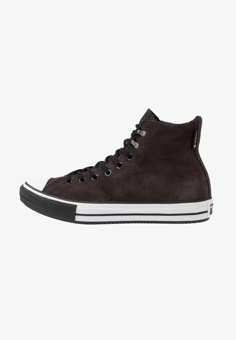 Converse - CHUCK TAYLOR ALL STAR WINTER WATERPROOF - Höga sneakers - brown/white/black