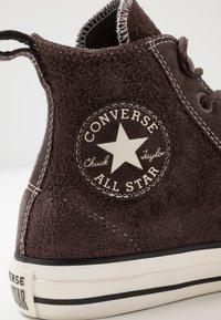 Converse - CHUCK TAYLOR ALL STAR - Baskets montantes - burnt umber/egret/black - 5
