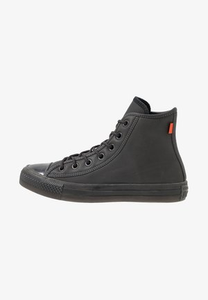 CHUCK TAYLOR ALL STAR - Korkeavartiset tennarit - almost black