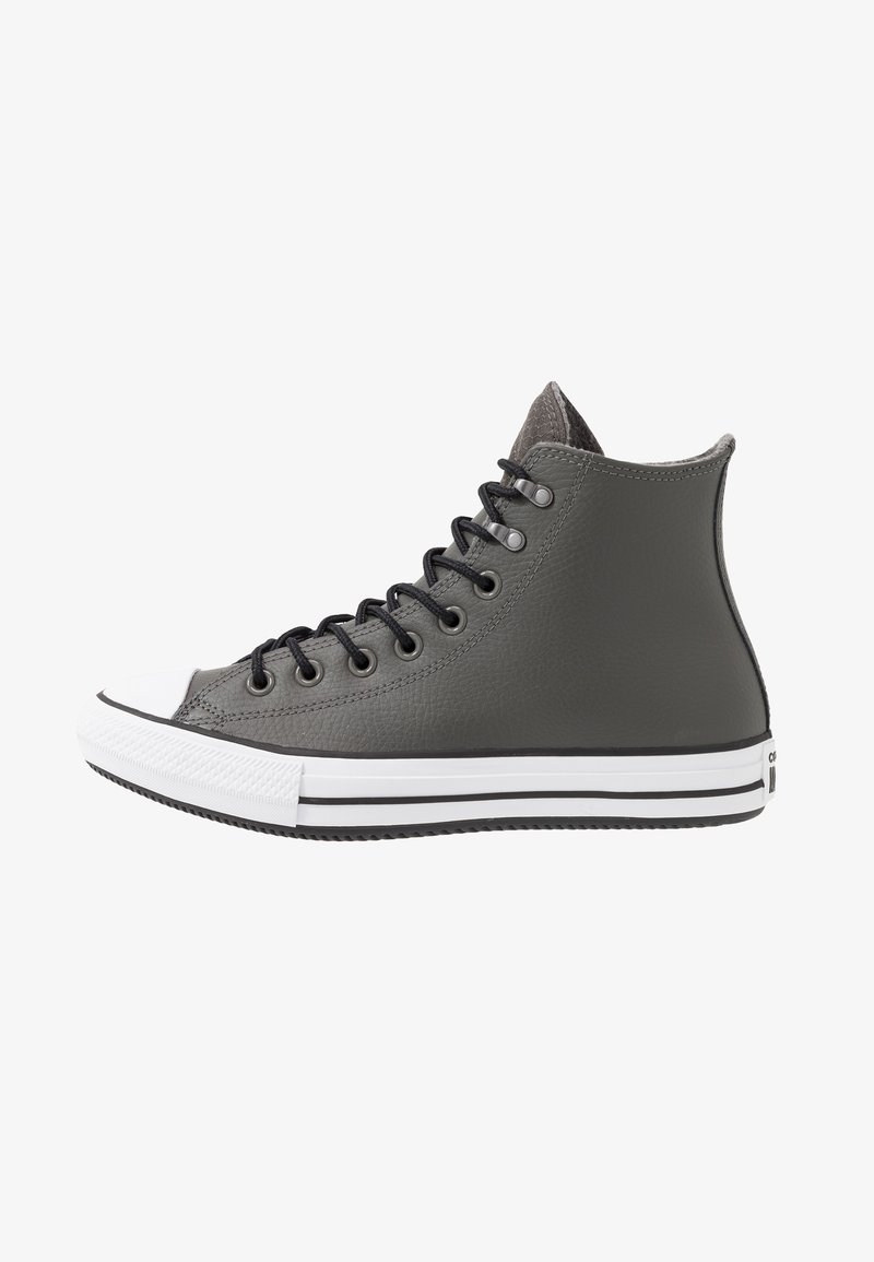 Converse - CHUCK TAYLOR ALL STAR WINTER FIRST STEPS - High-top trainers - carbon grey/black/white