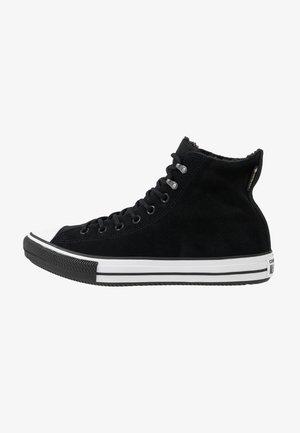 CHUCK TAYLOR ALL STAR WINTER WATERPROOF - Sneakers alte - black/white