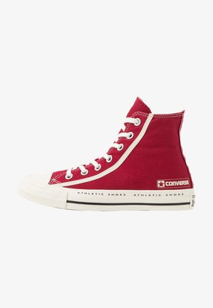 CHUCK TAYLOR ALL STAR LOGO PACK - High-top trainers - gym red/egret/black