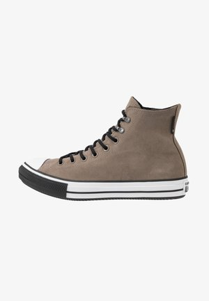 CHUCK TAYLOR ALL STAR WINTER WATERPROOF - Sneakers alte - mason taupe/white/black