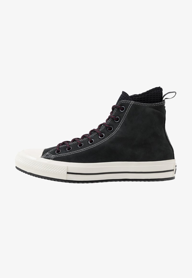 Converse - CHUCK TAYLOR ALL STAR WP - High-top trainers - black/egret