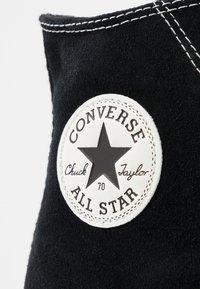 Converse - CHUCK 70  - Baskets montantes - black/egret - 5