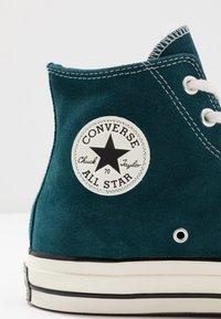 Converse - CHUCK  - Baskets montantes - midnight turquoise/black/egret - 5