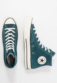 Converse - CHUCK  - Baskets montantes - midnight turquoise/black/egret - 1