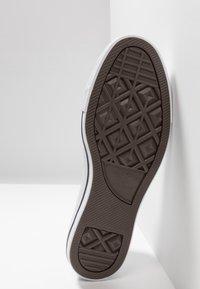 Converse - CHUCK  - Baskets montantes - midnight turquoise/black/egret - 4