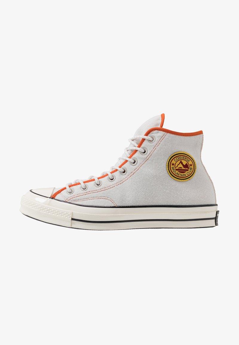Converse - CHUCK 70 ARCHIVAL TERRY - Zapatillas altas - pale putty/campfire orange/white