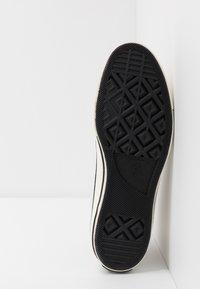 Converse - CHUCK 70 ARCHIVAL TERRY - Zapatillas altas - pale putty/campfire orange/white - 4