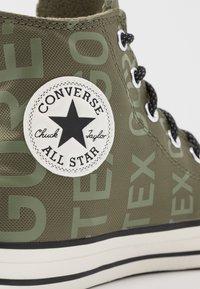 Converse - CHUCK TAYLOR ALL STAR GORE-TEX® - Baskets montantes - field surplus/egret/black - 5