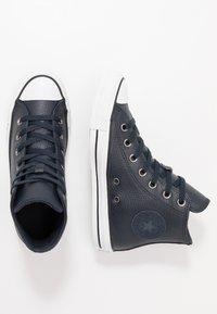 Converse - CTAS - Zapatillas altas - dark obsidian/white/black - 1