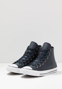 Converse - CTAS - Zapatillas altas - dark obsidian/white/black - 2