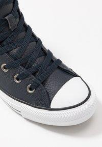 Converse - CTAS - Zapatillas altas - dark obsidian/white/black - 5