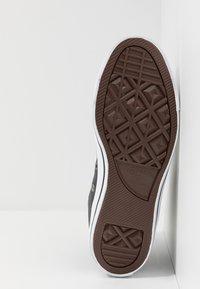 Converse - CTAS - Zapatillas altas - dark obsidian/white/black - 4
