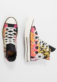 Converse - CHUCK 70 X BATMAN - Zapatillas altas - white/black/multicolor - 1