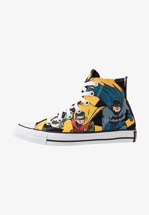 CHUCK TAYLOR ALL STAR X BATMAN - Zapatillas altas - white/black/multicolor