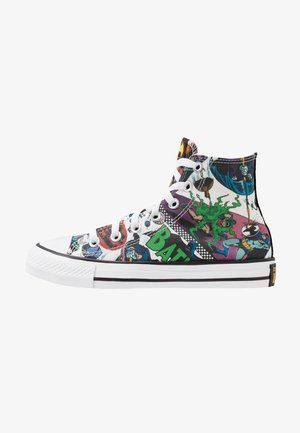 CHUCK TAYLOR ALL STAR X BATMAN - High-top trainers - white/black/multicolor