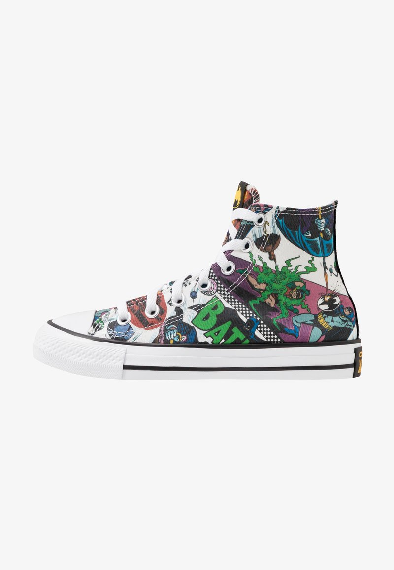 Converse - CHUCK TAYLOR ALL STAR X BATMAN - Baskets montantes - white/black/multicolor