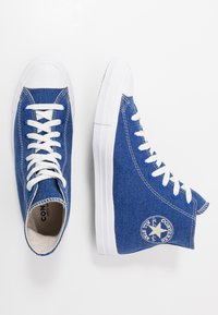 Converse - CHUCK TAYLOR ALL STAR RENEW - Vysoké tenisky - rush blue/natural/white - 1