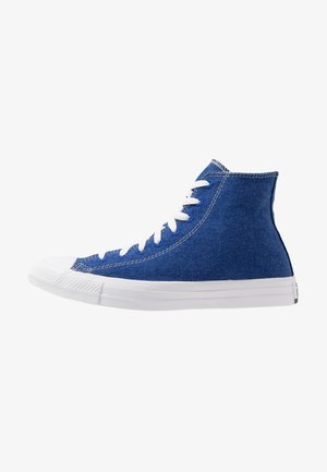 CHUCK TAYLOR ALL STAR RENEW - Korkeavartiset tennarit - rush blue/natural/white