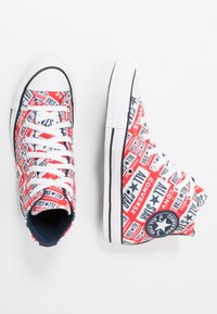 Converse - CHUCK TAYLOR ALL STAR  - Korkeavartiset tennarit - white/multicolor/black - 1
