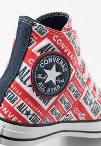 Converse - CHUCK TAYLOR ALL STAR  - Korkeavartiset tennarit - white/multicolor/black - 5