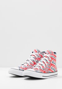 Converse - CHUCK TAYLOR ALL STAR  - Korkeavartiset tennarit - white/multicolor/black - 2