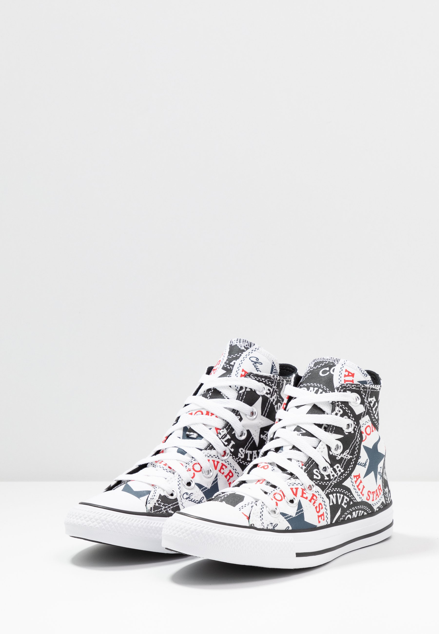 Converse Chuck Taylor All Star - Höga Sneakers Black/multicolor/white
