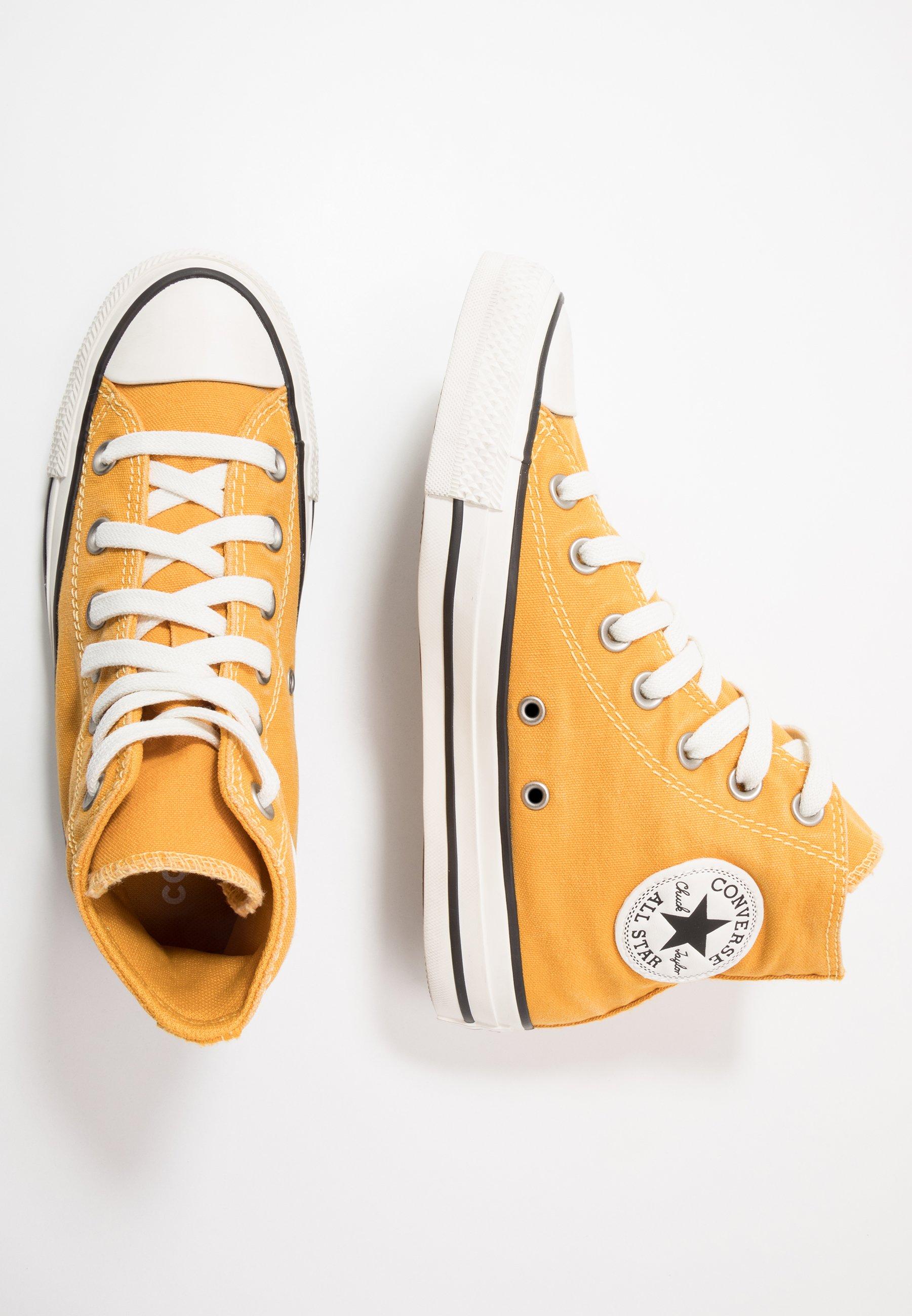 Converse CLASSIC CHUCK OX Joggesko sunflower goldegret