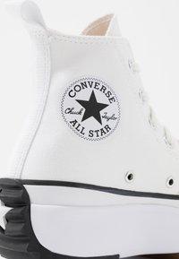 Converse - RUN STAR HIKE - High-top trainers - white/black - 2