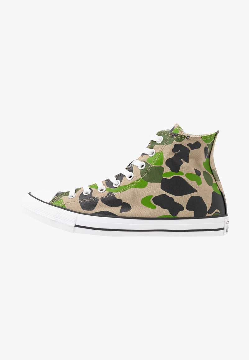 Converse - CLASSIC CHUCK  - Sneakers alte - black/candied ginger/white
