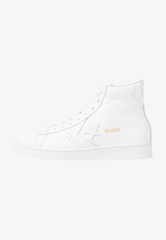 PRO LEATHER - Høye joggesko - white