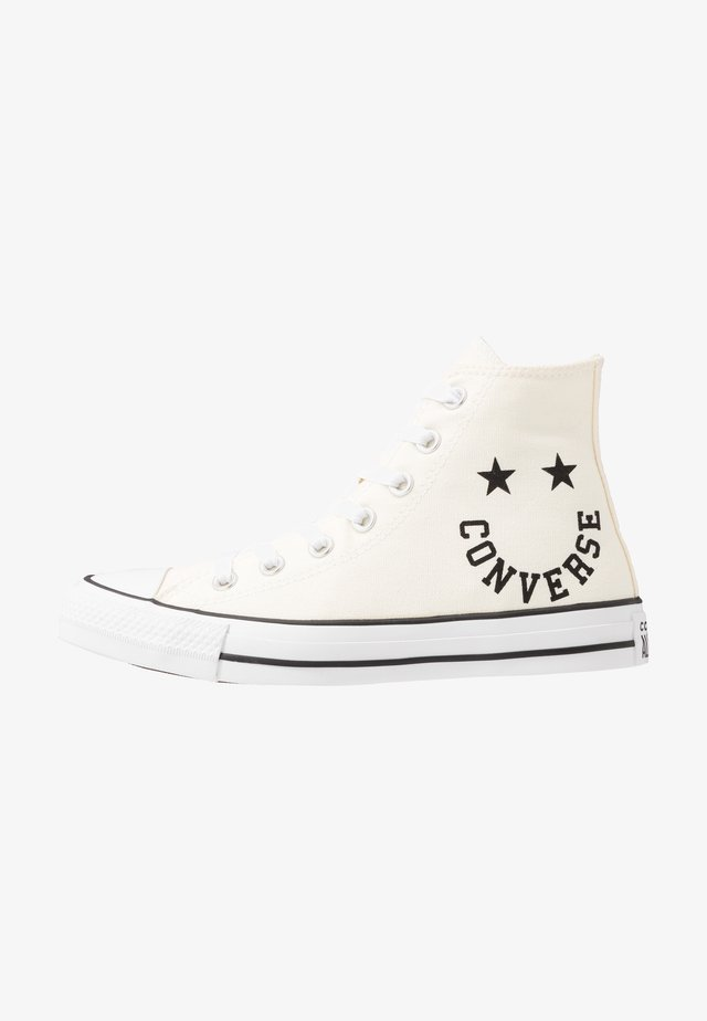 CHUCK TAYLOR ALL STAR  - High-top trainers - egret/black/white