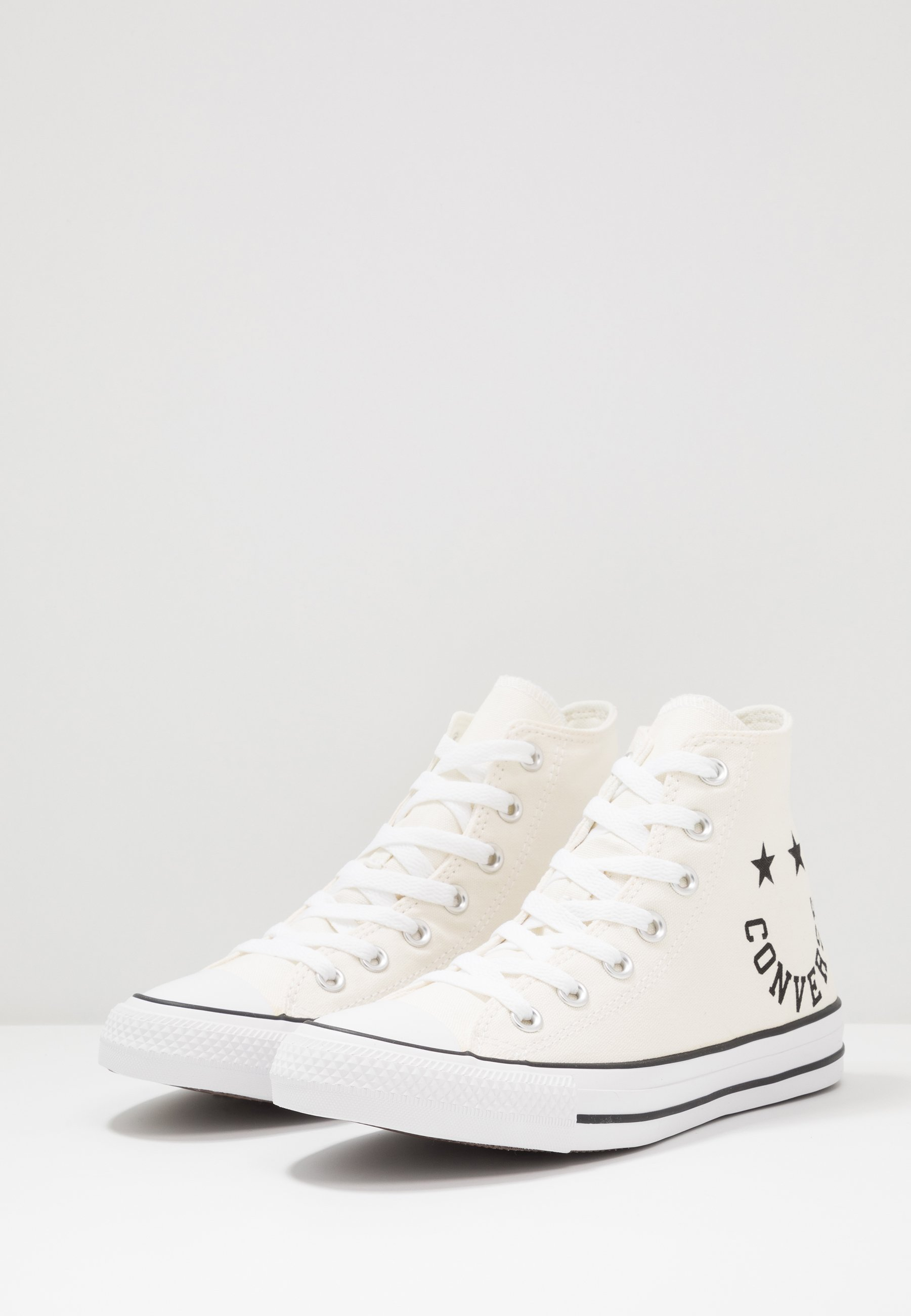 Converse CHUCK TAYLOR ALL STAR  - Sneaker high - egret/black/white