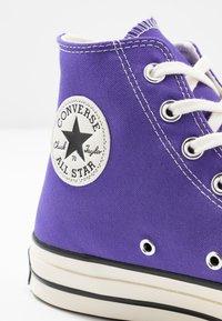 Converse - CHUCK TAYLOR ALL STAR - Sneakers alte - nightshade/egret/black - 5