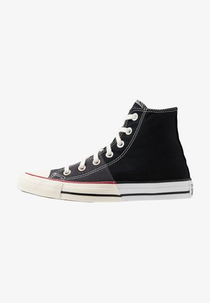 CHUCK TAYLOR ALL STAR  - Korkeavartiset tennarit - black/white/egret