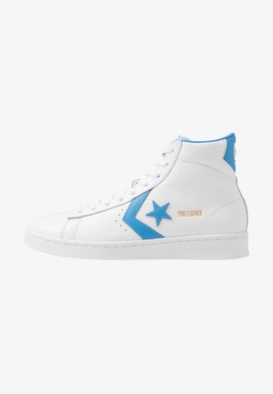 PRO LEATHER HI - Sneakers alte - white/coast blue