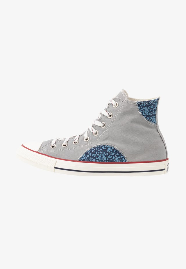 CHUCK TAYLOR ALL STAR  - Sneakers hoog - dolphin/gym red/obsidian