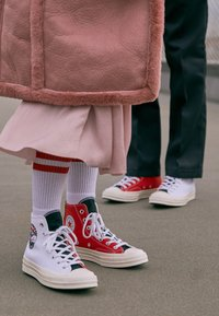 Converse - CHUCK TAYLOR ALL STAR 70  - Baskets montantes - white/university red/rush blue - 4