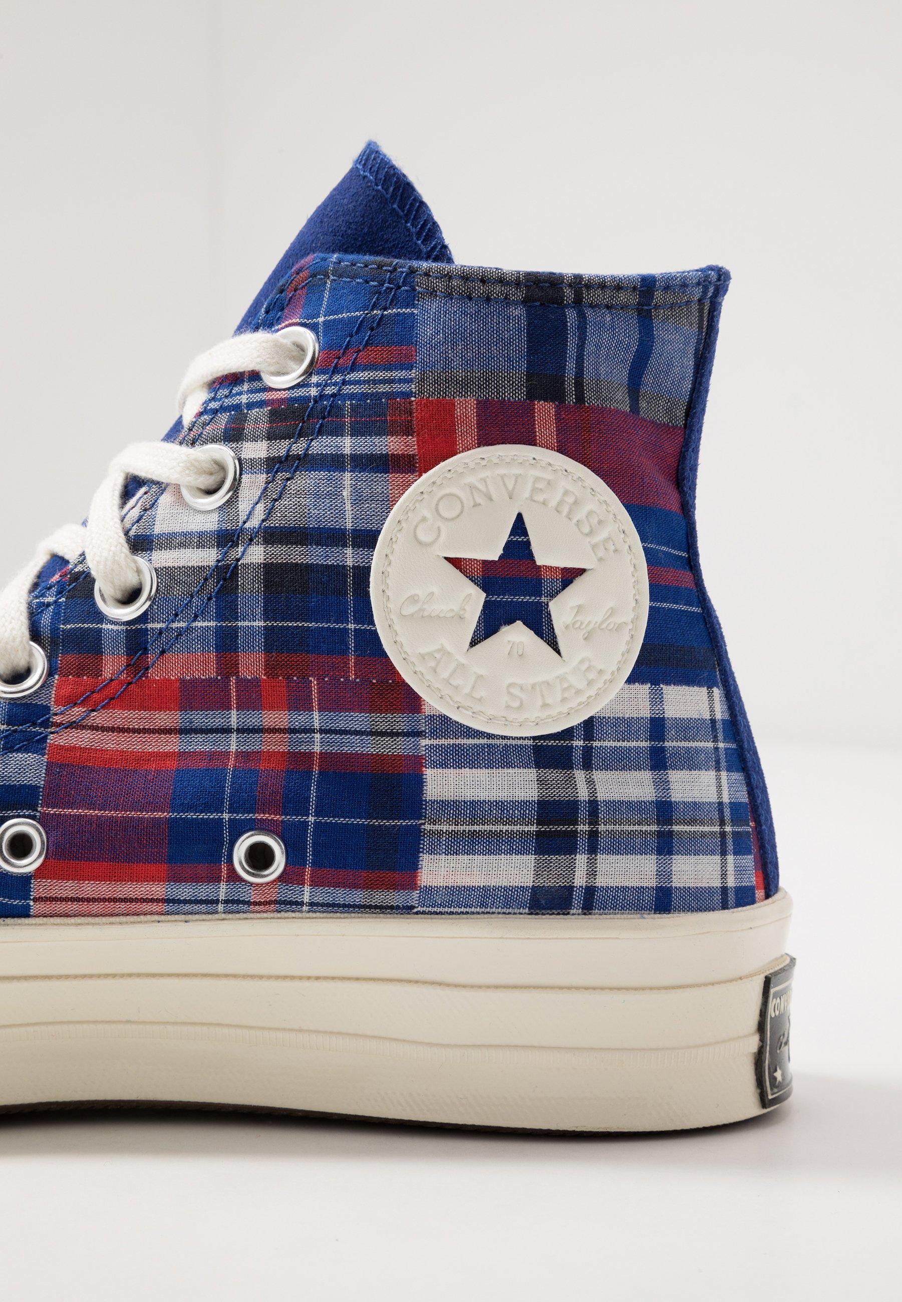 Converse Chuck Taylor All Star 70 - Höga Sneakers Rush Blue/university Red/obsidian