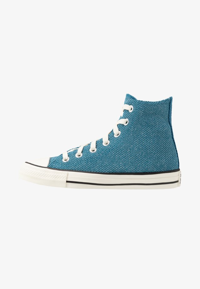 CHUCK TAYLOR ALL STAR - Höga sneakers - egyptian blue/agate blue/egret