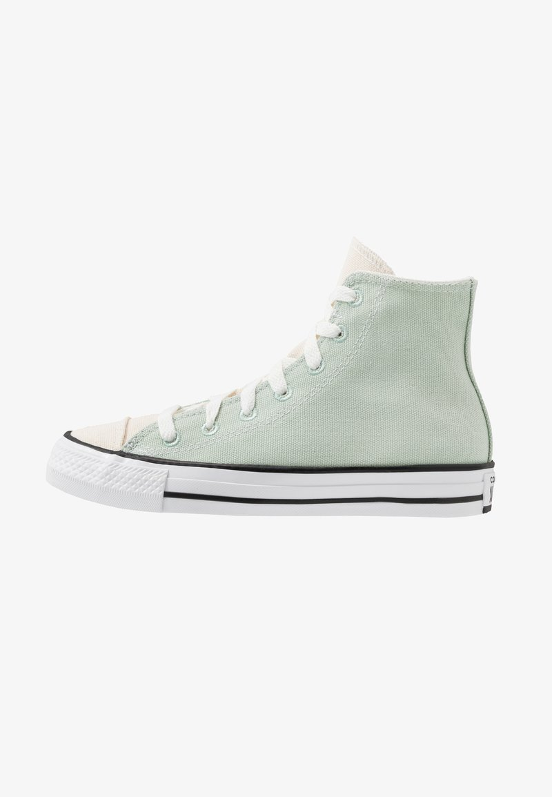 Converse - CHUCK TAYLOR ALL STAR RENEW - High-top trainers - green oxide/natural/black
