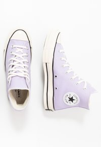 Converse - CHUCK TAYLOR ALL STAR - High-top trainers - moonstone violet/black/egret - 1